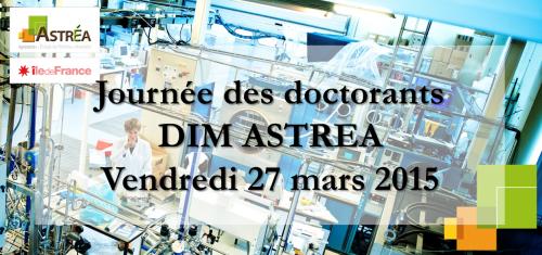 Logo Journée des doctorants 2015