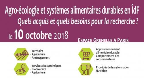 10 octobre 2018 : Séminaire DIM ASTREA - PSDR