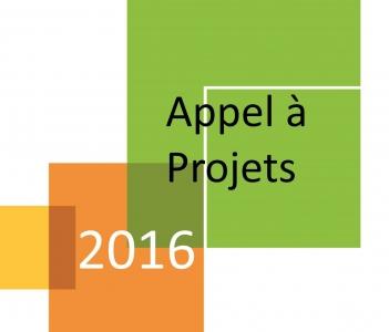 Appel à projets 2016